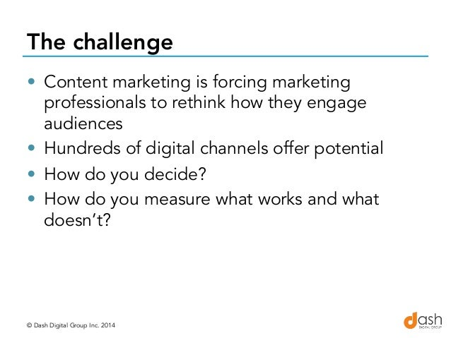 Connecting the Content Marketing Dots…Content, Channels and Culture with Laurie Paleczny Slide 2