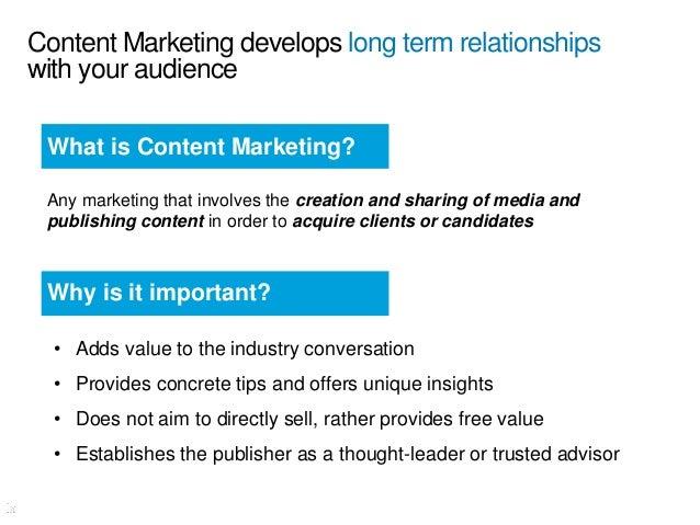Think like a marketer