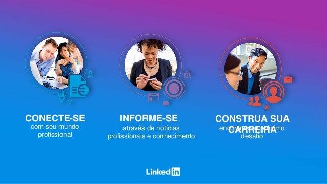 CONECTE-SE INFORME-SE CONSTRUA SUA CARREIRAcom seu mundo profissional através de notícias profissionais e conhecimento enc...