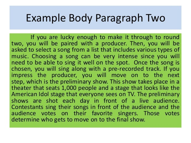 Two Body Paragraph Essay img-1