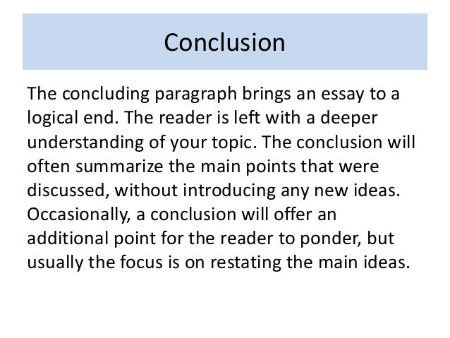connection between paragraph and essay