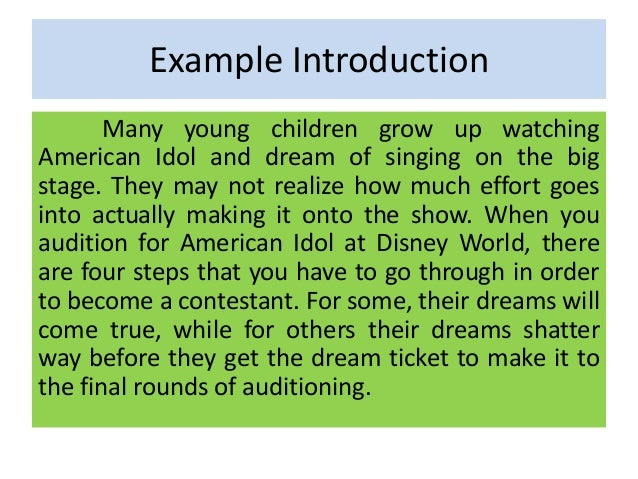 an introduction to the creative essay on the topic of the american dream The american dream has always been a staple of american culture when  people speak of it, they often refer back to the first half of the 20th century  despite this.