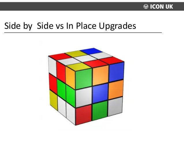 Side  by    Side  vs  In  Place  Upgrades