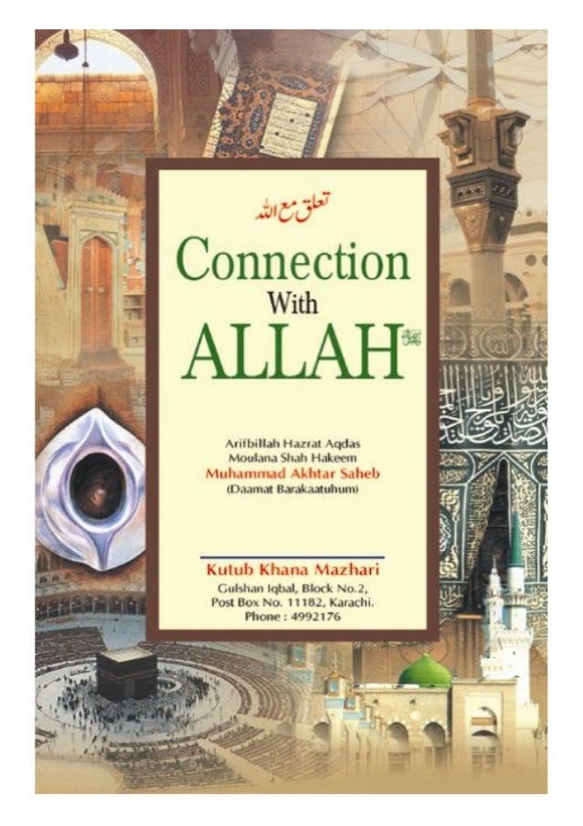 Connection with Allah Ta'ala  Connection with Allah Ta'ala Author: Shaikh-ul-Arab Wal-Ajam Arifbillah Hazrat-e-Aqdas Maula...