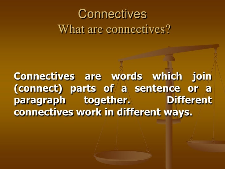 connectives can used essays