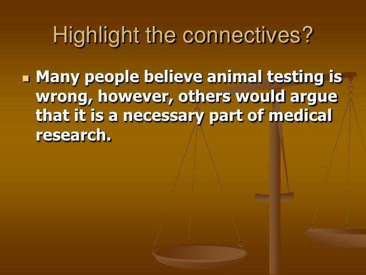 Arguments against animal testing essay