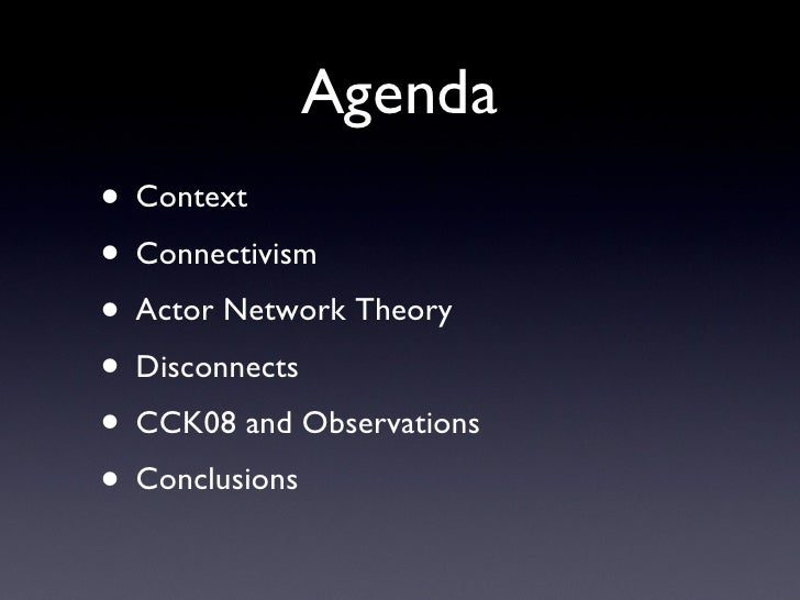 potential of actor network theory for theory Actor-network theory, organizations and critique: towards a politics of organizing  actor-network theory,  analytical potential for the field.