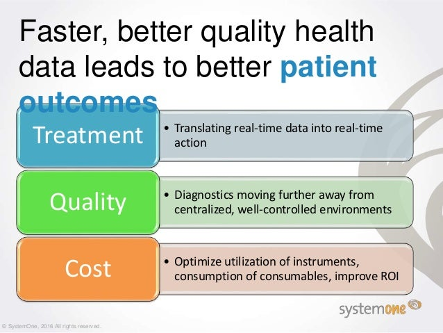 Connectivity Needs for Improved Patient Care Slide 3