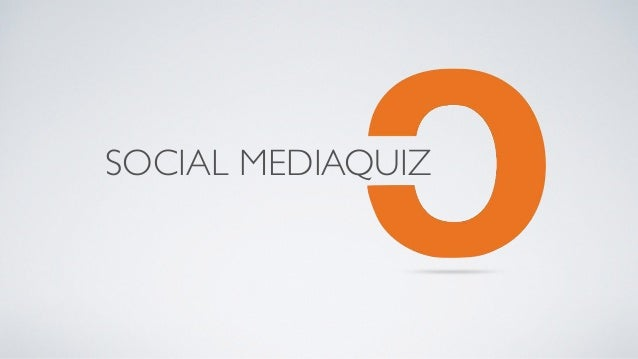SOCIAL MEDIAQUIZ