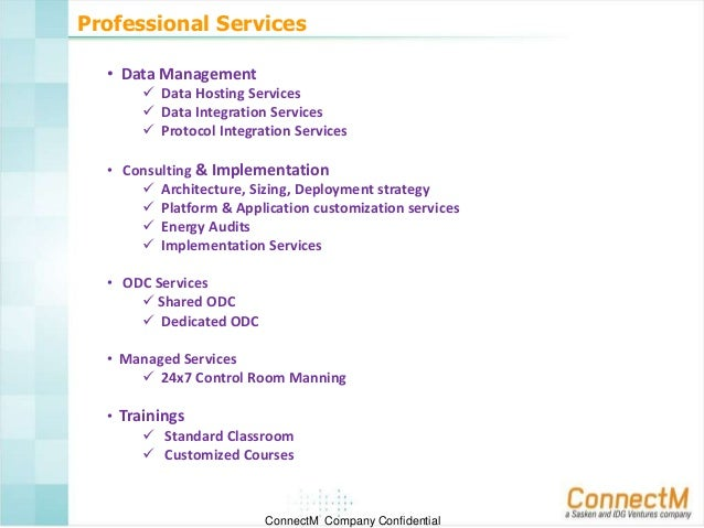 Connectm Corporate Overview Jan 2014