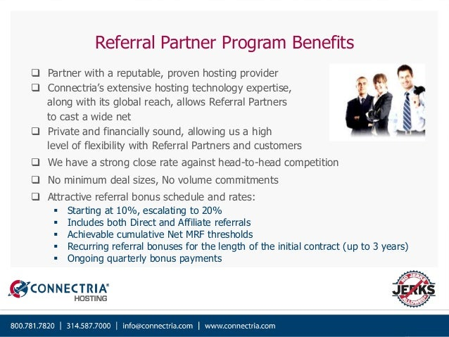 Connectria Hosting - Referral Partner Program