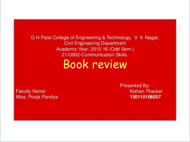 Powerpoint Templates Page 1 G H Patel College of Engineering & Technology, V. V. Nagar, Civil Engineering Department Acade...