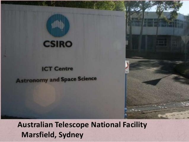 Australian Telescope National Facility  Marsfield, Sydney