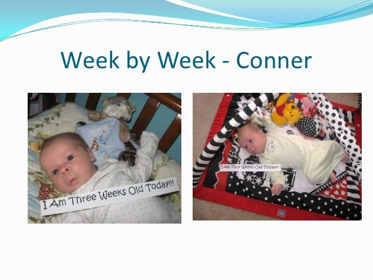 Week by Week - Conner<br />