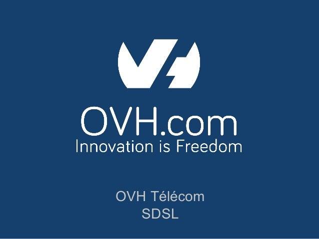 OVH Télécom SDSL