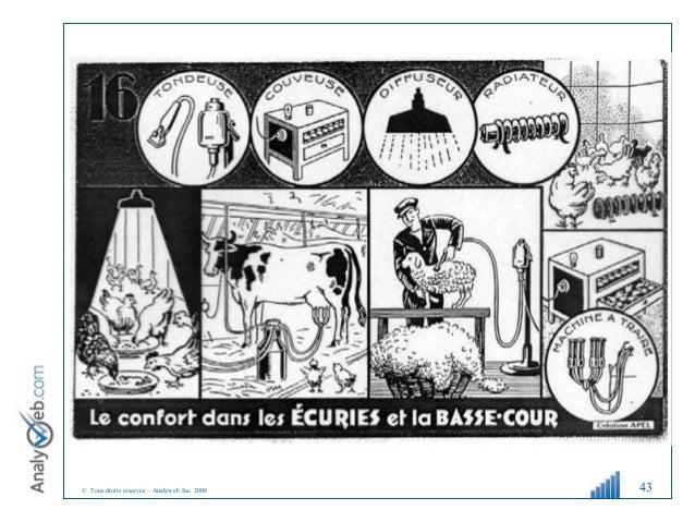 © Tous droits réservés – Analyweb Inc. 2008 43