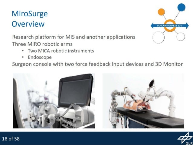 thesis robotic surgery Information technology in medicine: should patients trust robotic surgery 1 introduction to the topic robots are ubiquitous today they are found in our.