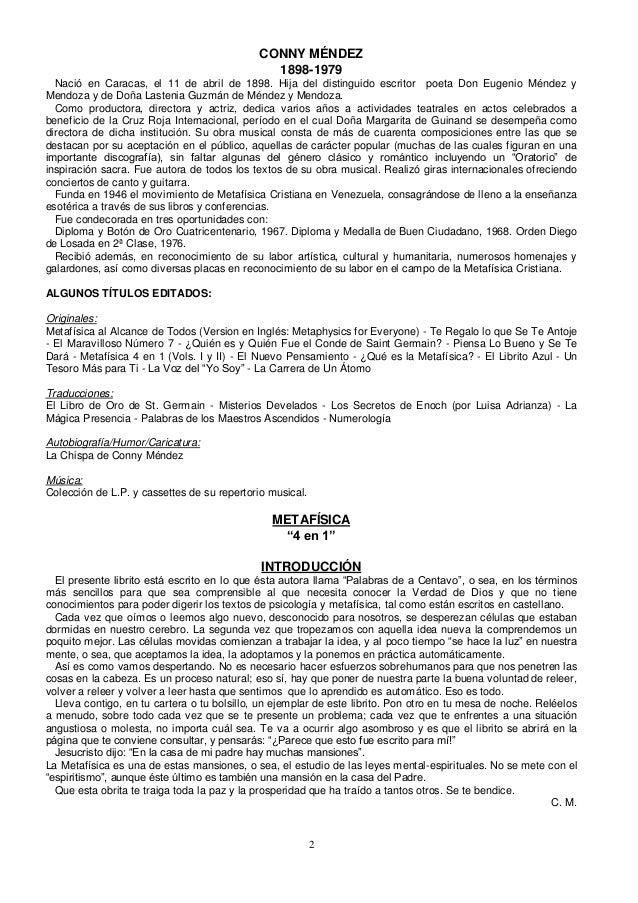 Conny Méndez - Metafísica 4 en 1 vol 1 y 2 Slide 2