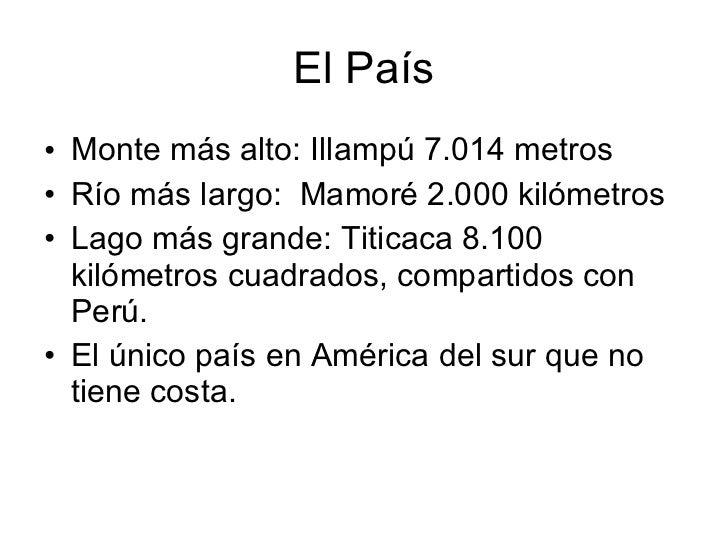 Conocemos bolivia Slide 3