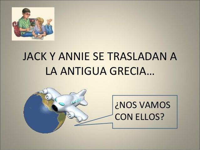 JACK Y ANNIE SE TRASLADAN A LA ANTIGUA GRECIA… ¿NOS VAMOS CON ELLOS?