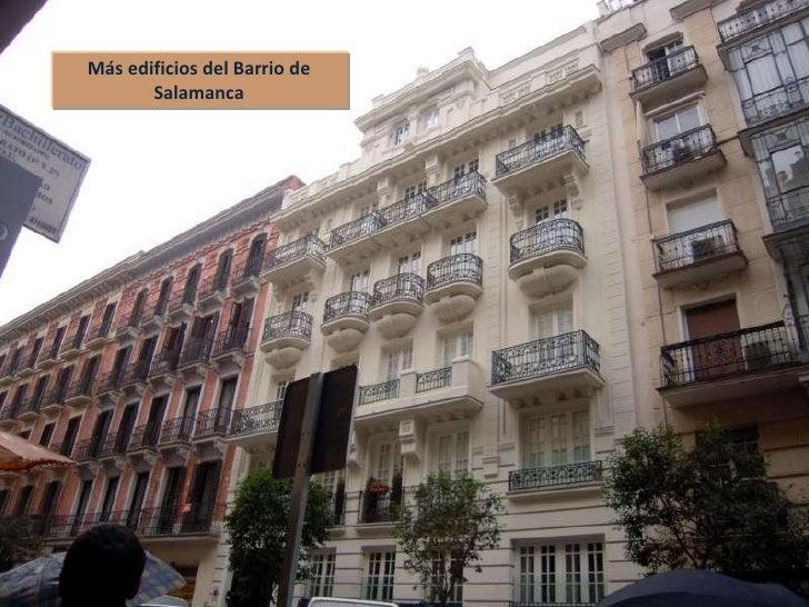 Conocer madrid 07 barrio de salamanca y museo arqueol gico - Barrio salamanca madrid ...