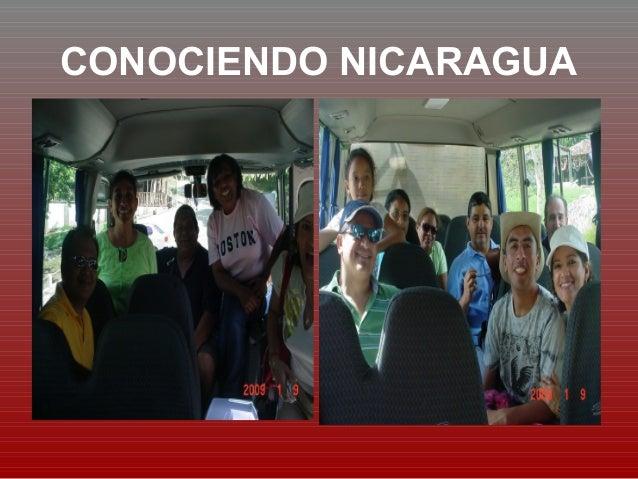 CONOCIENDO NICARAGUA