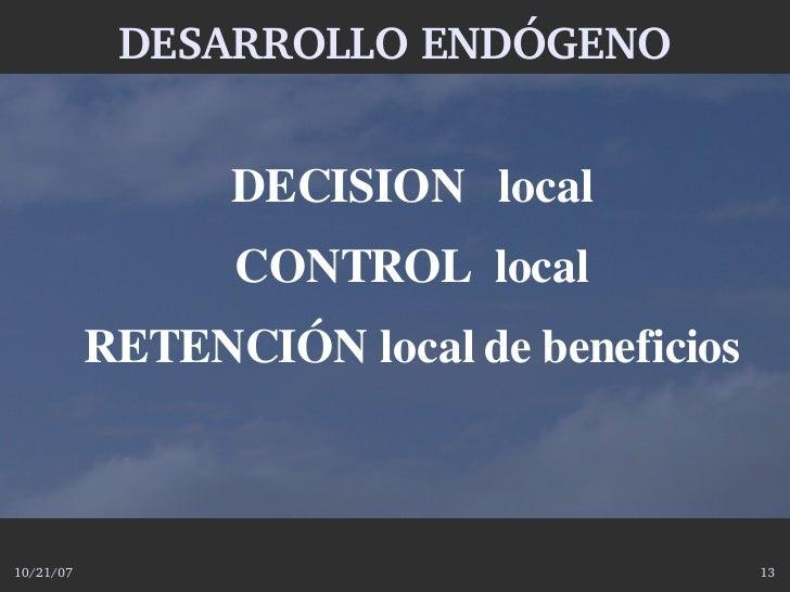 DESARROLLOENDÓGENO                    DECISIONlocal                  CONTROLlocal            RETENCIÓNlocaldebene...