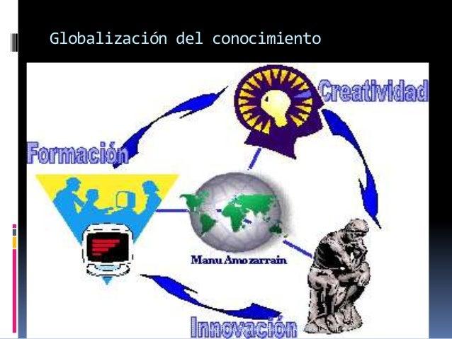 Globalización del conocimiento  Mg.Rosa Gabriela Pascual Albitres