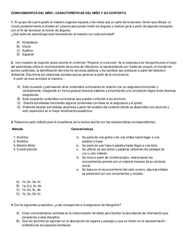 CONOCIMIENTOS DEL NIÑO   CARACTERÍSTICAS DEL NIÑO Y SU CONTEXTO. 1. En grupo de cuarto grado el maestro organiza equipos y...