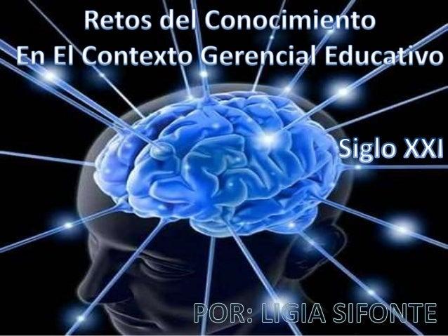 Gerencia Educativa Proceso de conducción de una institución educativa por medio del ejercicio de un conjunto de habilidade...