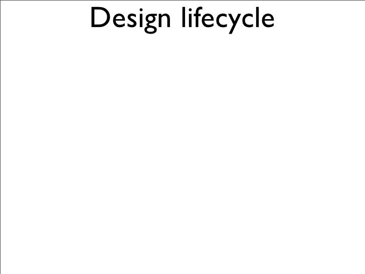 Design lifecycle           Gather    Assemble   Vision                          Run              Adapt      Evaluate