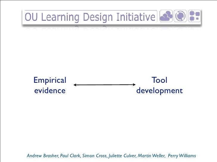 Empirical                                                Tool    evidence                                             deve...