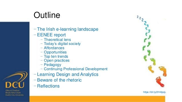 Outline of the report • Foregrounding literature • Theoretical lens • Changing nature of the digital society • Affordances...