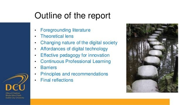 Theoretical lens − Potential to enhanced and transform − Quality and effectiveness of pedagogy and outcomes depends on tea...