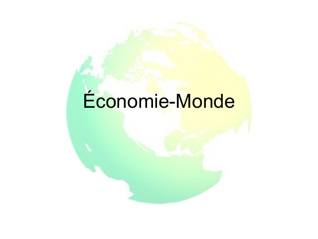 Économie-Monde