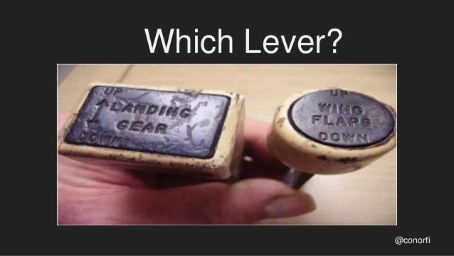Which Lever? @conorfi