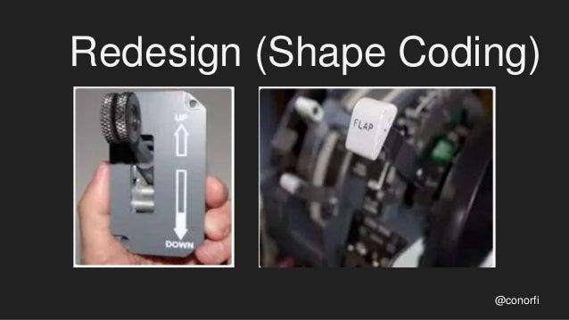 Redesign (Shape Coding) @conorfi