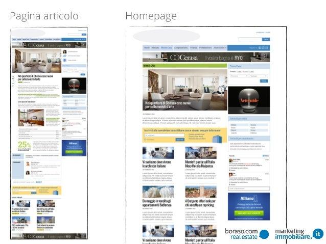 Pagina articolo Homepage