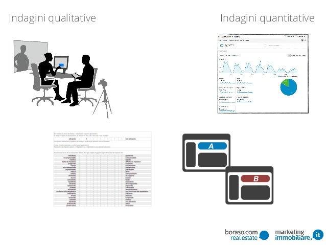 Indagini quantitativeIndagini qualitative