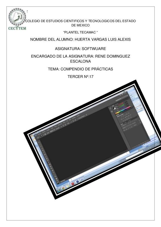 """LUZ COLEGIO DE ESTUDIOS CIENTIFICOS Y TECNOLOGICOS DEL ESTADO                         DE MEXICO                    """"PLANTE..."""
