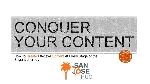 How To Create Effective Content At Every Stage of the Buyer's Journey