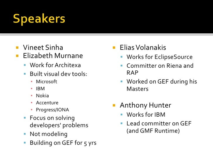 Conquering Gef Part2: Building graphical web-apps with Eclipse Slide 2