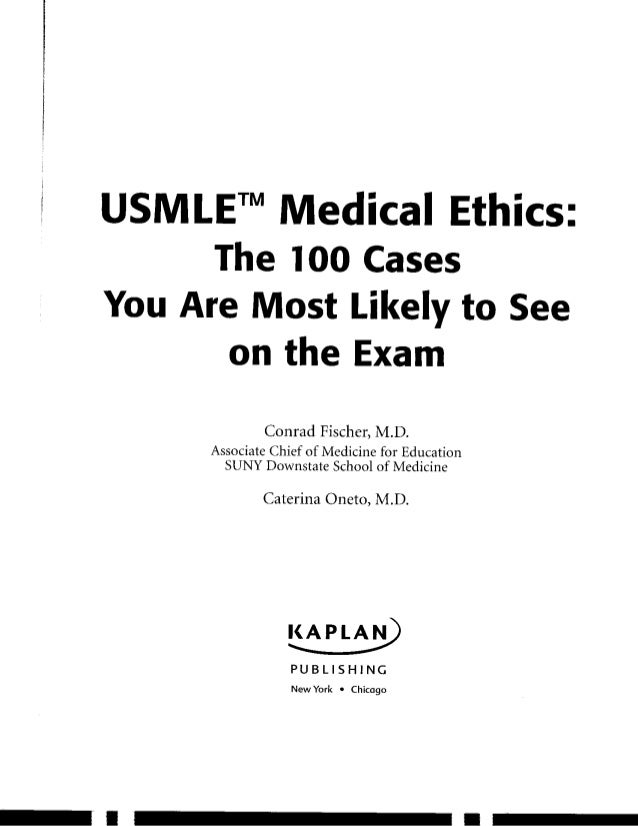 conrad fischer medical ethics pdf
