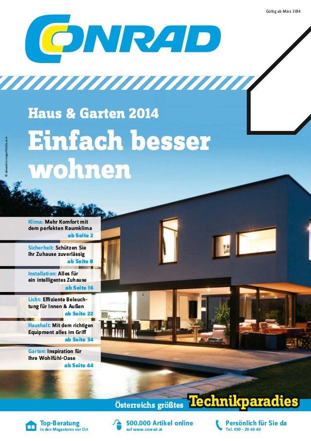 Conrad Haus und Garten 2014