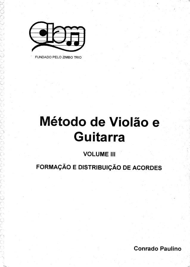Conrado paulino metodo-de-violao-e-guitarra-vl-3