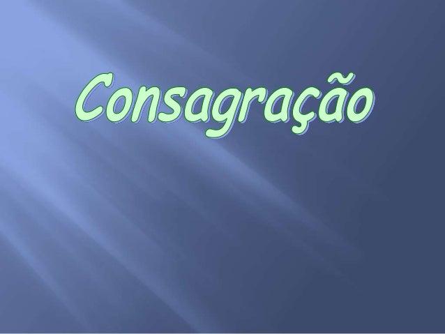 Consagração