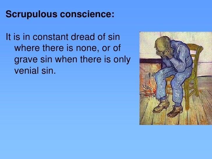 Scrupulous catholic