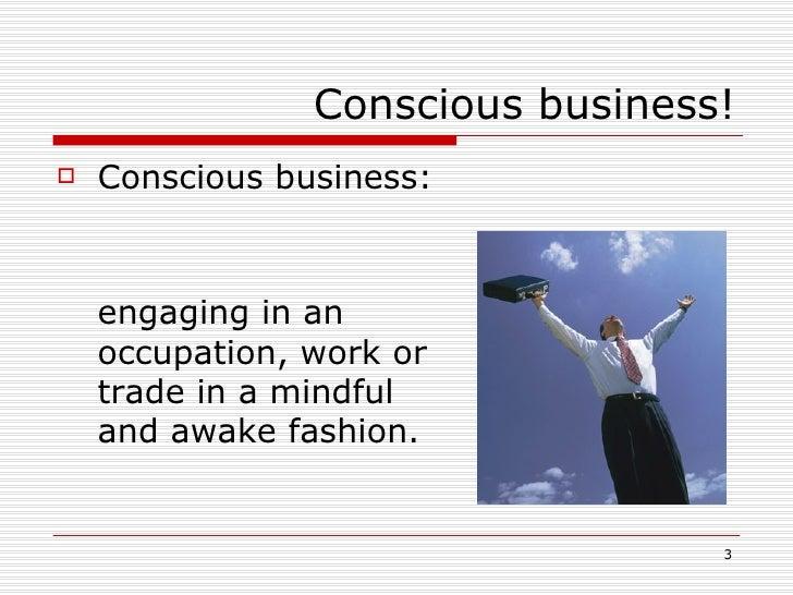 Conscious Business Slide 3