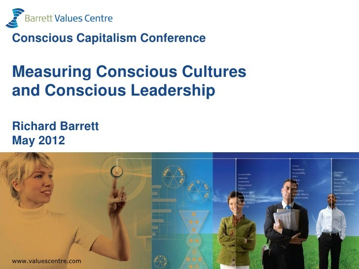 Conscious Capitalism ConferenceMeasuring Conscious Culturesand Conscious LeadershipRichard BarrettMay 2012  www.valuescent...