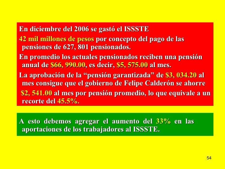 Consecuencias les del issste septiembre - Se cobra la pension el mes de fallecimiento ...